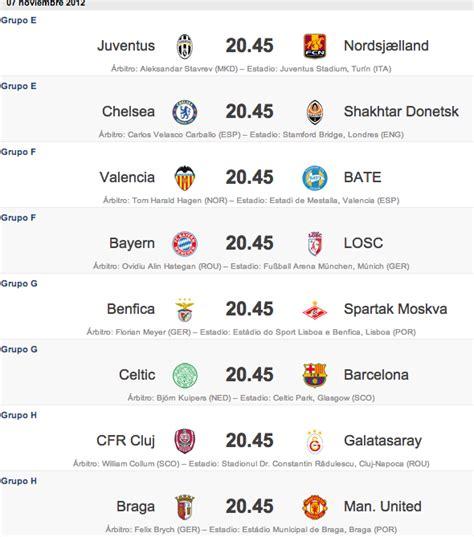 Las noticias del fc barcelona y del deporte hoy en md: EL DEPORTIVO : Partidos de hoy para la Champions League: