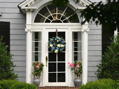thinking   glass front door read   diy