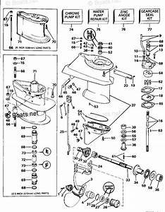Evinrude Outboard Parts By Hp 25hp Oem Parts Diagram For