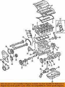 2002 Audi B6 A4 Amb 1 8t Engine Motor Crankshaft Crank