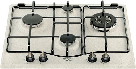 piani cottura da incasso ariston piano cottura hotpoint ariston gas 4 fuochi 60 cm pc 640 t