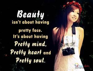 Pretty Girl Quotes. QuotesGram