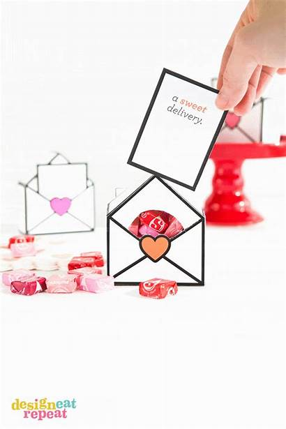 Valentines Candy Boxes Gift Printable Valentine Template