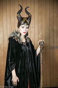 Maleficent Cosplay Costume Halloween