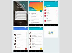 Android Material Design Freebiesbug
