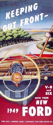 Ford Car Wiring Diagram Manual Reprint