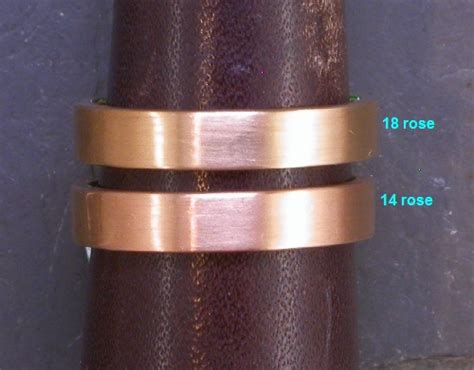 precious metal color comparison  custom jewelry