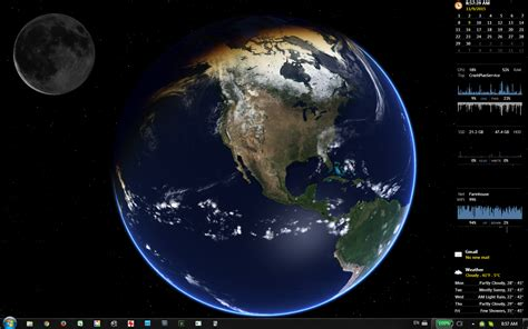 Life Is Strange Desktop Background Desktop Earth Rainmeter Moonphase Rainmeter