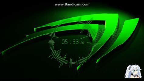audio visualizer  wallpaper engine nvidia logo