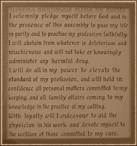Image Gallery Nightingale Oath