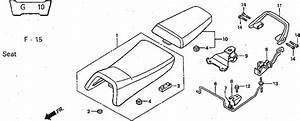 Nsr Salatiga  Nsr 150 Sp Parts Catalogue  Seat
