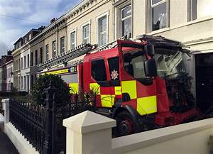 Someone Stole A Fire Engine And Then Crashed It In Northern Ireland