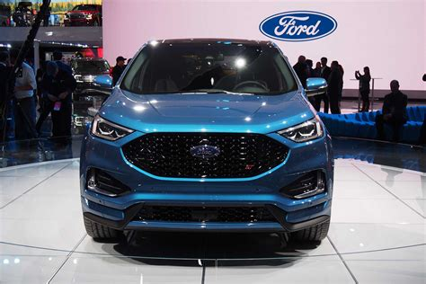 ford edge st added  refreshed lineup autoguide
