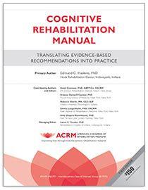 cognitive rehabilitation manual acrm