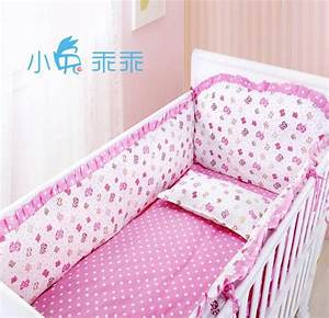 Promotion, 6pcs, Baby, Bedding, Set, Nursery, Furniture, Cotton