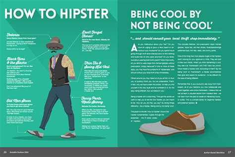 How To Hipster Magazine Design On Behance
