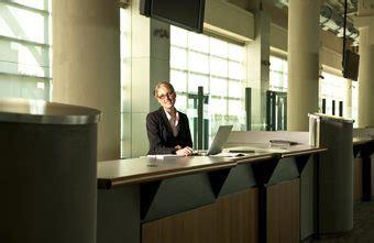 Descriptions Of A Hotel Front Desk Position Chroncom