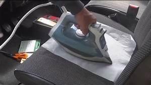 Réparation siège tissu ( Déchirure ) Auto Tissu