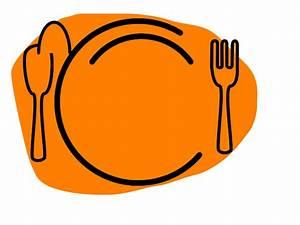 Dinner Plate Clip Art - Vector Clip Art Online, Royalty ...