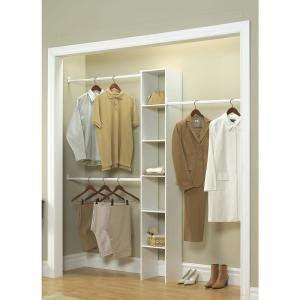Home Depot Custom Closets by Closetmaid 12 In White Custom Closet Organizer 7033 The