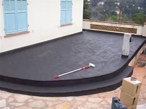 Etancheite toit terrasse carrelage resine etancheite beton Oeufenpoudre