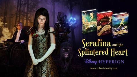 serafina   splintered heart official book trailer