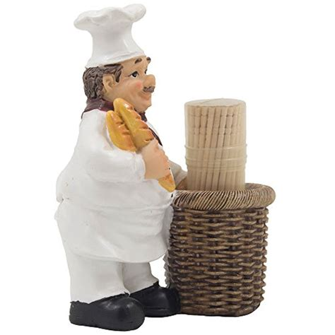 Pered Chef Easy Accent Decorator Uk by Chef Decorative Toothpick Holder Figurine