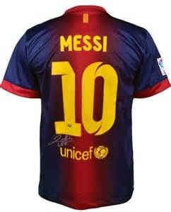 Lionel Messi Barcelona Jersey