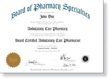Pharmacy Board Certification by Board Certification For Community Pharmacists Grows