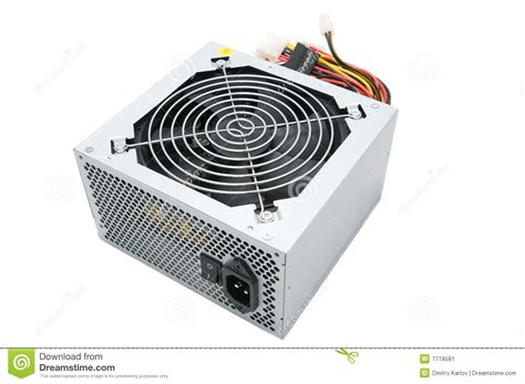 Power Source For Computer Stock Image