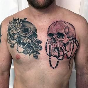100 Rosary Tattoos For Men - Sacred Prayer Ink Designs