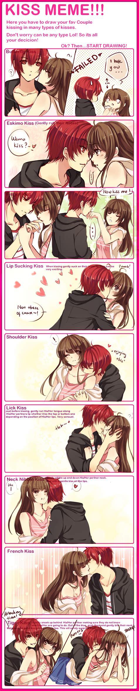 Kiss Memes - kiss meme with waifuuuu by zenithomocha on deviantart