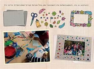 Bilderrahmen Basteln Kinder : bilderrahmen herstellen ~ Lizthompson.info Haus und Dekorationen