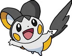 Pokemon Emolga Coloring Pages