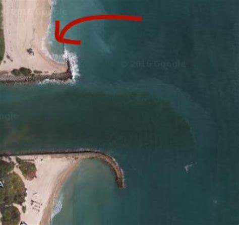 shark google maps fishing water surf bullbuster