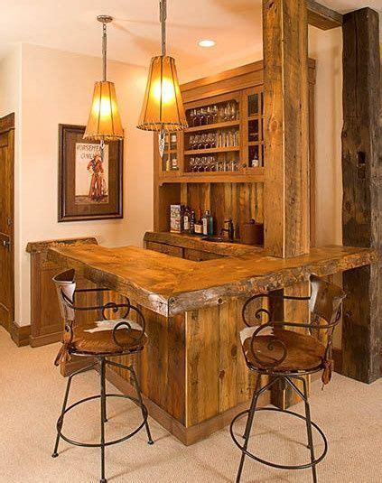 Rustic Home Bar by Rustic Basement Bar Ideas Rustic Western Saloon Bar In