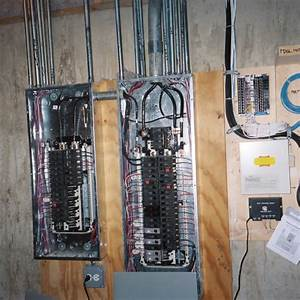Main 200 Amp 40 Circuit Panel With 100 Amp Sub- Panel