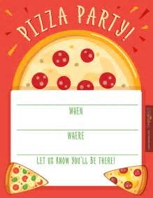 party invitations hostess helpers free pizza party printables thegoodstuff
