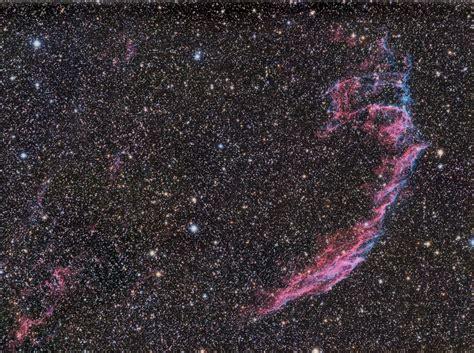 eastern veil nebula ngc  astronomy magazine