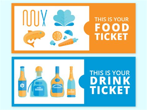 drink ticket template 35 ticket templates free sle exle format free premium templates