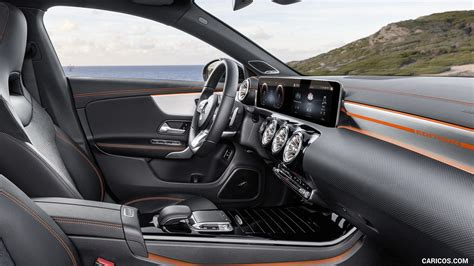 The german automaker has established themselves as the premier luxury car brand, and they've gone the extra mile to show it with innovative interior amenities and the new amg® cla 35 delivers a boost in performance compared to the conventional cla 250. 2020 Mercedes-Benz CLA 250 Coupe Edition Orange Art - Interior | HD Wallpaper #28
