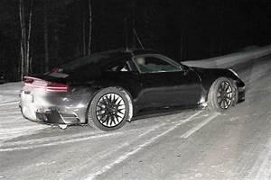 Spy Shots  8th Gen 2019 Porsche 911 Type 992