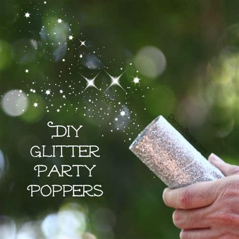 diy glitter party poppers danya banya