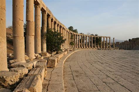 fileoval forum jerash jordanjpg wikimedia commons