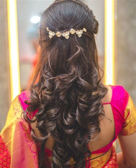 hair   indian dressing style hairstyle long hair