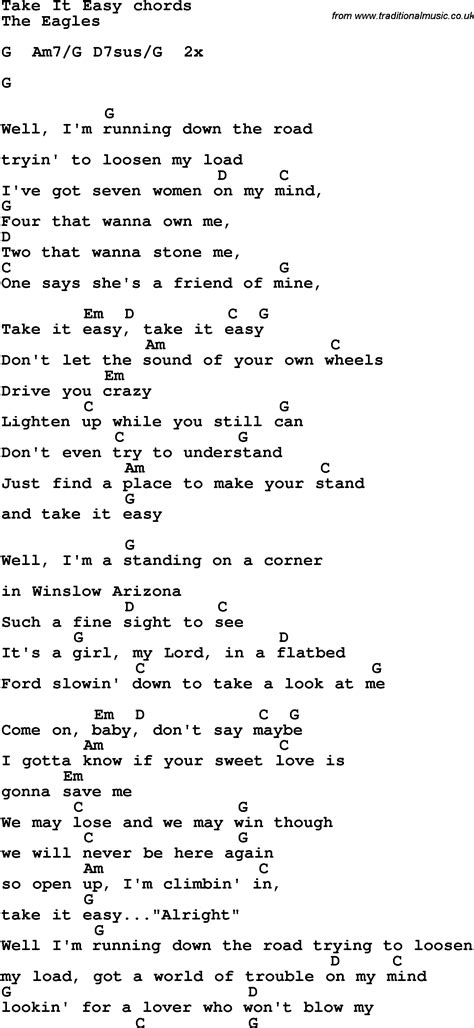 Easy Guitar Sheet Music For Popular Songs  Song Lyrics With Guitar Chords For Am I That Easy To