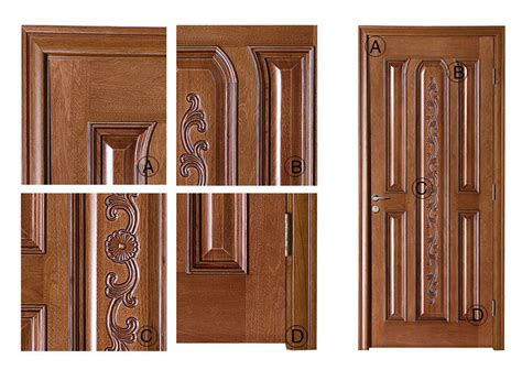 Soundproof Bedroom Door by Carved Panel Wood Door Soundproof Bedroom Door Models