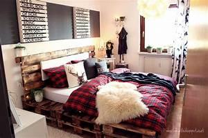 Bett Bauen Aus Paletten : kreativblog bett aus paletten handmade kultur ~ Markanthonyermac.com Haus und Dekorationen