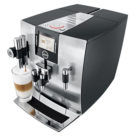 jura impressa j9 4 one touch tft coffee machine 1450 watt 15 bar aluminium co uk