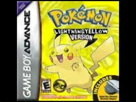 Pokemon Yellow Rom Pokemon Lightning Yellow Version A Awesome Hack Youtube